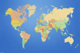 World Map Of Countries by Maps Countries World