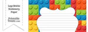 lego bricks stationery paper