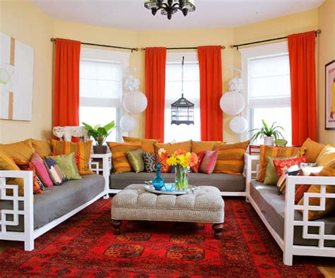 red livingroom 15 red living room design ideas