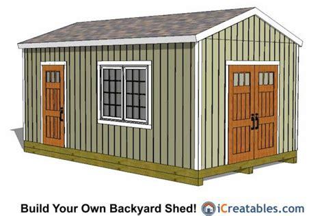 large storage shed plans  shed plans