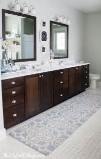 Vanity Rugs Bathroom Master Bathroom Decor The Lilypad Cottage