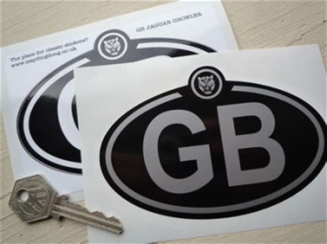 Car Nationality Stickers