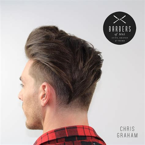view from back of pompadour hair style 21 new undercut hairstyles for men