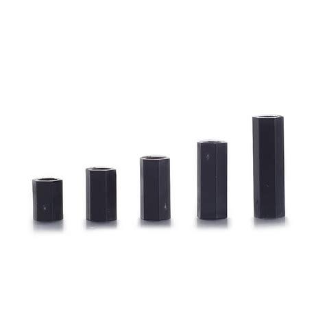 Set Stand Spacer Kit M3x8mm 6 Hex 50pcs 50pcs set black plastic m3 screws nuts f f standoff hex spacer assortment kit