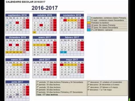 lineamientos de ccalendario escolar 2016 2017 calendario escola segun la sep 2016 2017 youtube