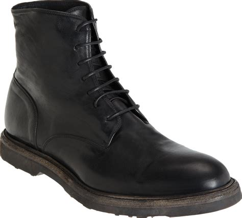 thick sole boots for barneys new york thick sole combat boot in black for