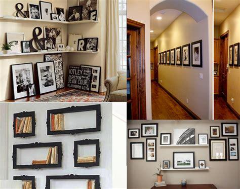 creative wall decoration for hallway modern home decor