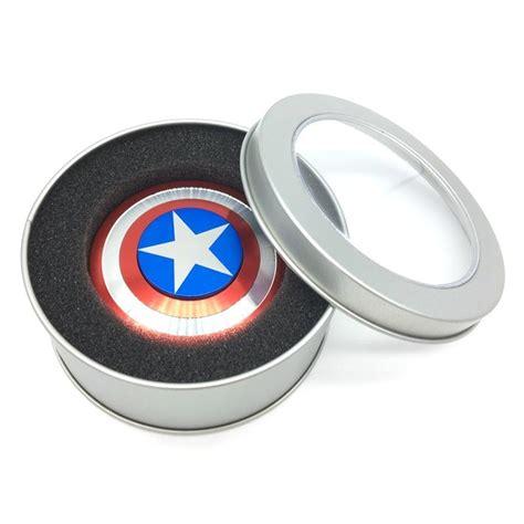 Spinner Fidget Toys Marvel Captain America 2 captain america fidget spinner king grizzly sales