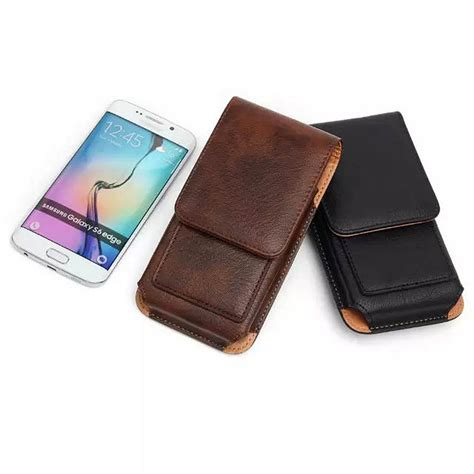 Promo Jimshoney Jh Wallet universal leather pouch waist wallet mobile phone bag for iphone 5 5s se 6 6s plus for