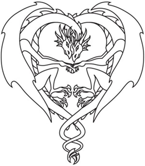 dragon heart coloring page coloring page world dragon love