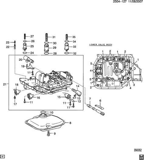 2007 pontiac vibe valve body bat auto technical