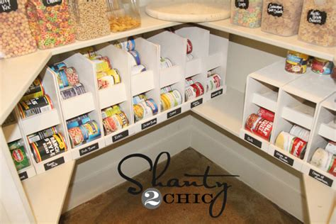 food storage ideas pantry ideas diy canned food storage shanty 2 chic