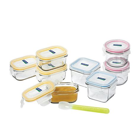 Cherish Instant Food Keeper Set glasslock baby food container 9pc set w spoon fast shipping