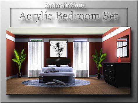 Fantasticsims Acrylic Bedroom Set Acrylic Bedroom Furniture
