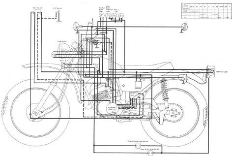 yamaha motorcycle wiring diagram wiring diagram with