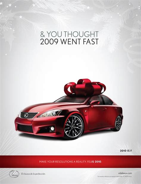 lexus christmas lexus holiday ad design pinterest