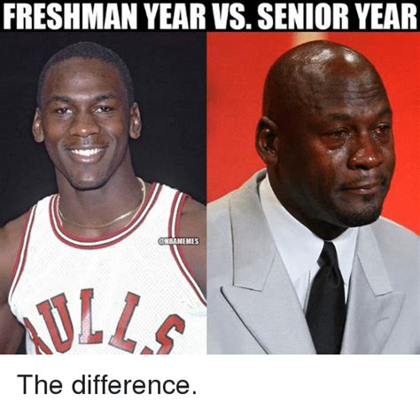 Senior Year Meme - 25 best memes about freshman year vs senior year
