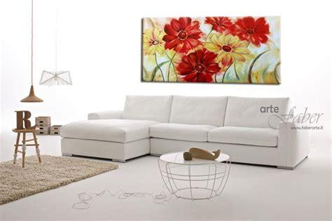 quadri moderni fiori quadri con fiori moderni quot gerbere quot faber arte