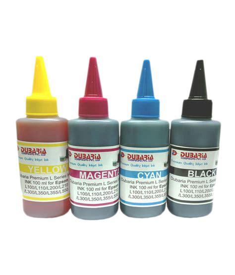 Premium Ink 100ml Cannon dubaria premium quality epson inkjet ink for epson printers 100ml 4 colour buy dubaria premium