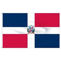 dominican republic dominican republic flag 3ft x 5ft nylon