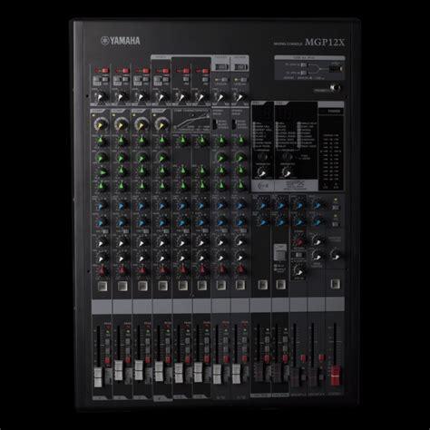 Audio Mixer Yamaha Mgp12x yamaha mgp12x 12 channel mixer altomusic