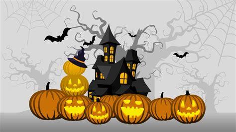 free halloween powerpoint background slidemodel