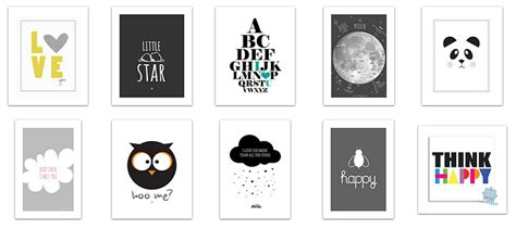 printable baby poster roomobaby blog 10 lovely black white free printable