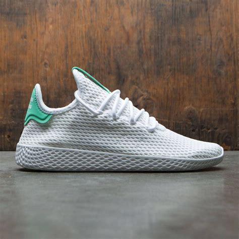 adidas x pharrell williams tennis hu white footwear