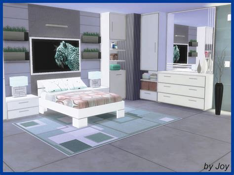 Lima Bedroom By Joy At Tsr 187 Sims 4 Updates Lima Bedroom Furniture