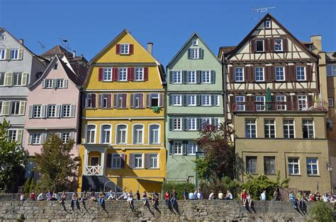 buy house in germany colorful old houses in tuebingen germany photograph by