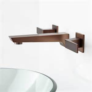 wall mounted bathroom sink faucets cheval wall mount bathroom faucet bathroom sink faucets