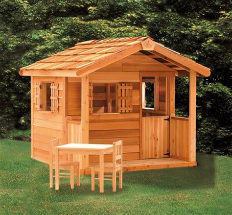 Backyard Playhouse Kits by Outdoor Playhouse Cedar Playhouses Cedarshed Canada