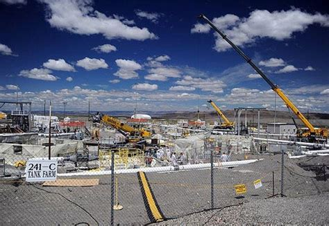 new report says federal cleanup program wasting away grist report finds hanford tank waste will take longer to treat