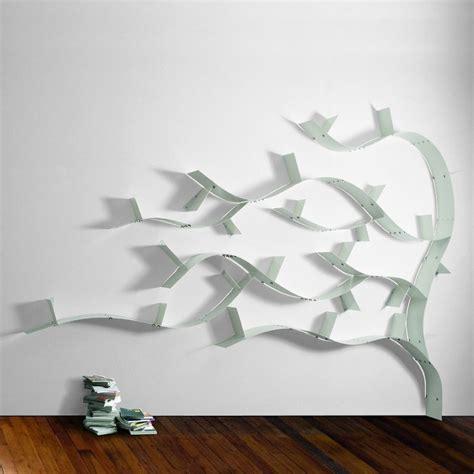 libreria a mensole librerie ad albero 7 modelli a parete dal design mozzafiato