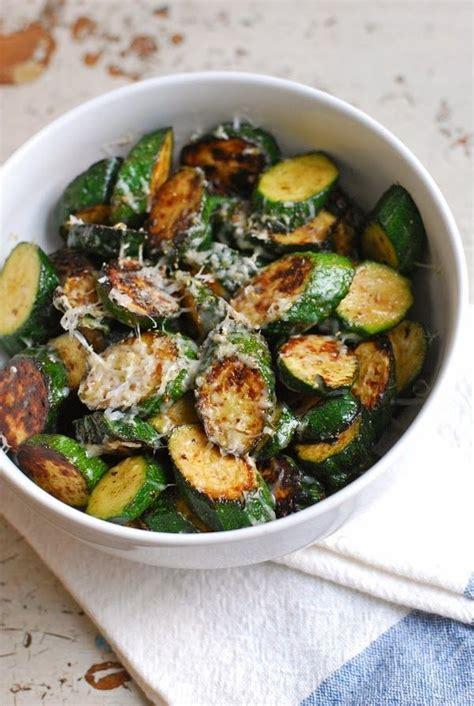 a fast fresh vegetable side dish parmesan lime zucchini