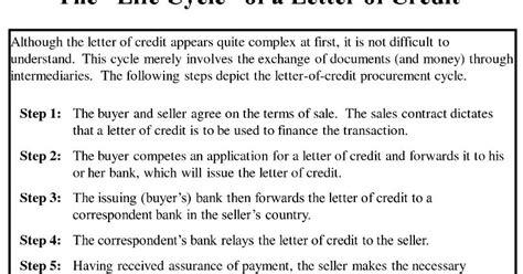 Bank Yang Mengeluarkan Letter Of Credit letter of credit dalam hukum perdagangan internasional
