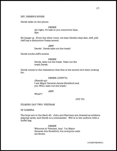 Screenplay Formatting On Vimeo Screenplay Format Template