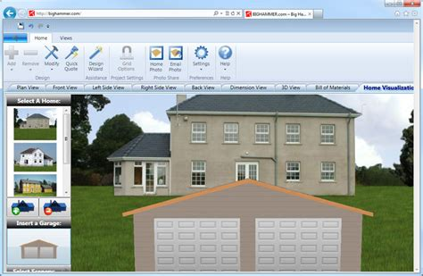 online home builder a review of free garage design software free building