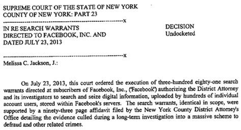Active Search Warrants Loses Appeal On New York Search Warrants The