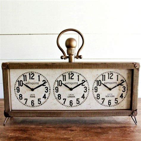 Multi Time Zone Desk Clock by 10 Best Ideas About Time Zone Clocks On Travel