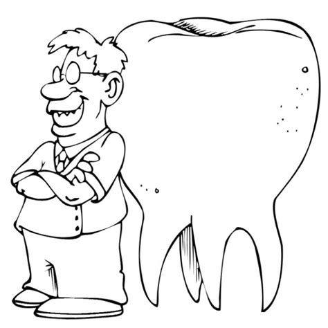 Dental Coloring Pages Coloringpagesabc Com Dentist Coloring Page