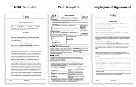 integration document template how to sign digital documents