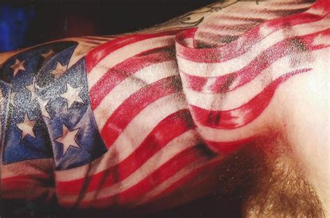 11 american flag tattoo designs
