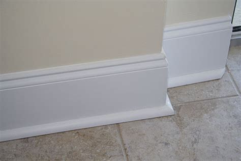 Baseboards Sizes custom baseboard installation