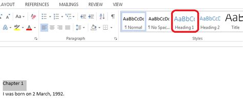 Table Of Contents In Word 2013 by How To Create And Update Table Of Contents In Word 2013