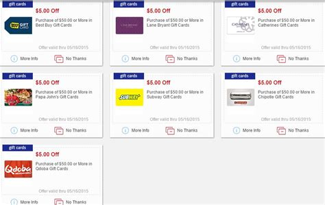 Meijer 5 Off 50 Gift Card - 5 00 off select 50 gift cards at meijer mylitter one deal at a time