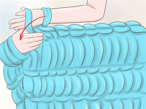 how to arm knit a blanket step by step how to arm knit a blanket 7 steps with pictures wikihow
