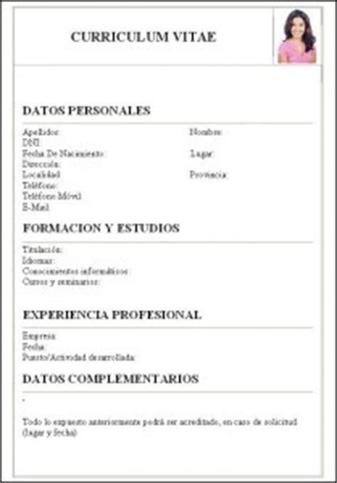 Plantilla De Curriculum Para Copiar Y Pegar c 243 mo hacer una carta curriculum como hacer