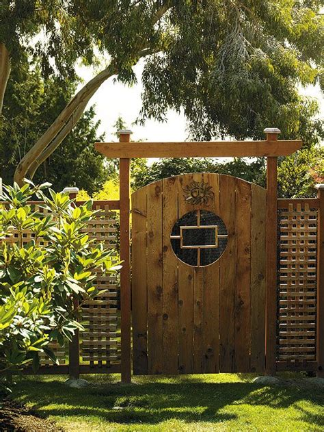 backyard fence gate 17 best ideas about lattice garden on pinterest patio