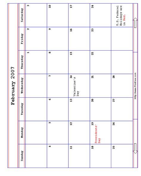 February 2007 Calendar February2007 Gif